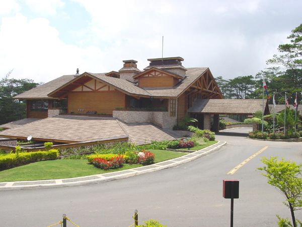 Camp John Hay Golf Clubhouse Baguio City Philippines Formerly A Us Military Rest And Recreation Facility